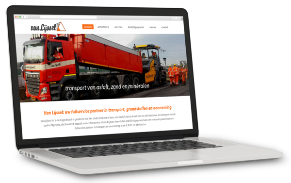 ontwerp webdesign den bosch transport